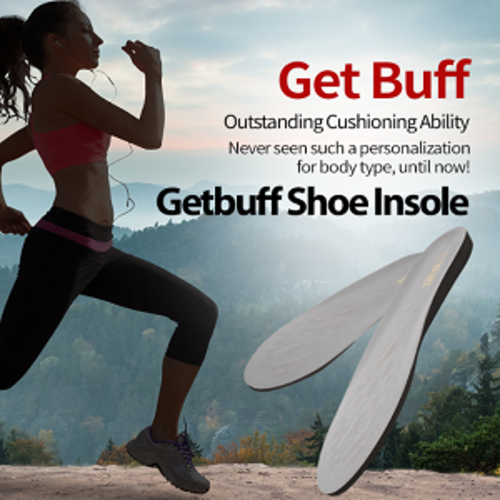 [English] Get Buff Insole for Sports enthusiasts