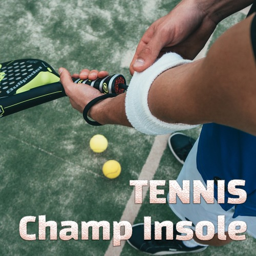 [English] CHAMP INSOLE for tennis players